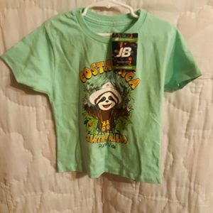 NWT Costa Rica Green Shirt